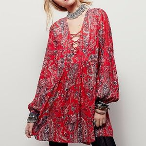 NWT Free People 'RAIN OR SHINE DRESS'